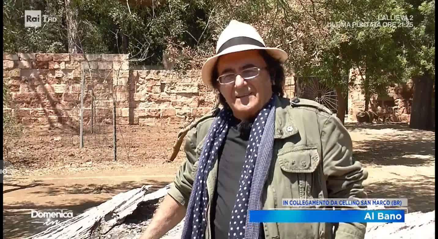 Al Bano vuole fare il funerale al virus e regala poi una gaffe su uomini e dinosauri che spopola sui social (VIDEO)