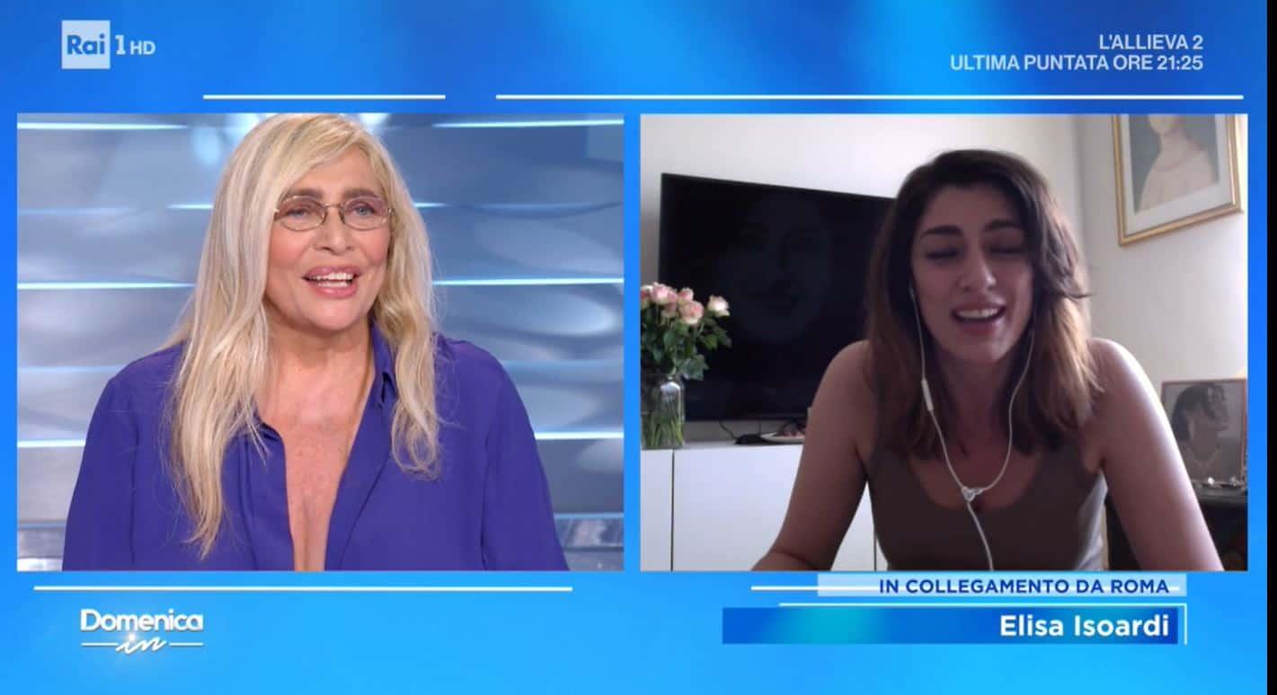 Elisa Isoardi ringrazia Mara Venier con una rosa e svela fino a quando andrà in onda La prova del cuoco