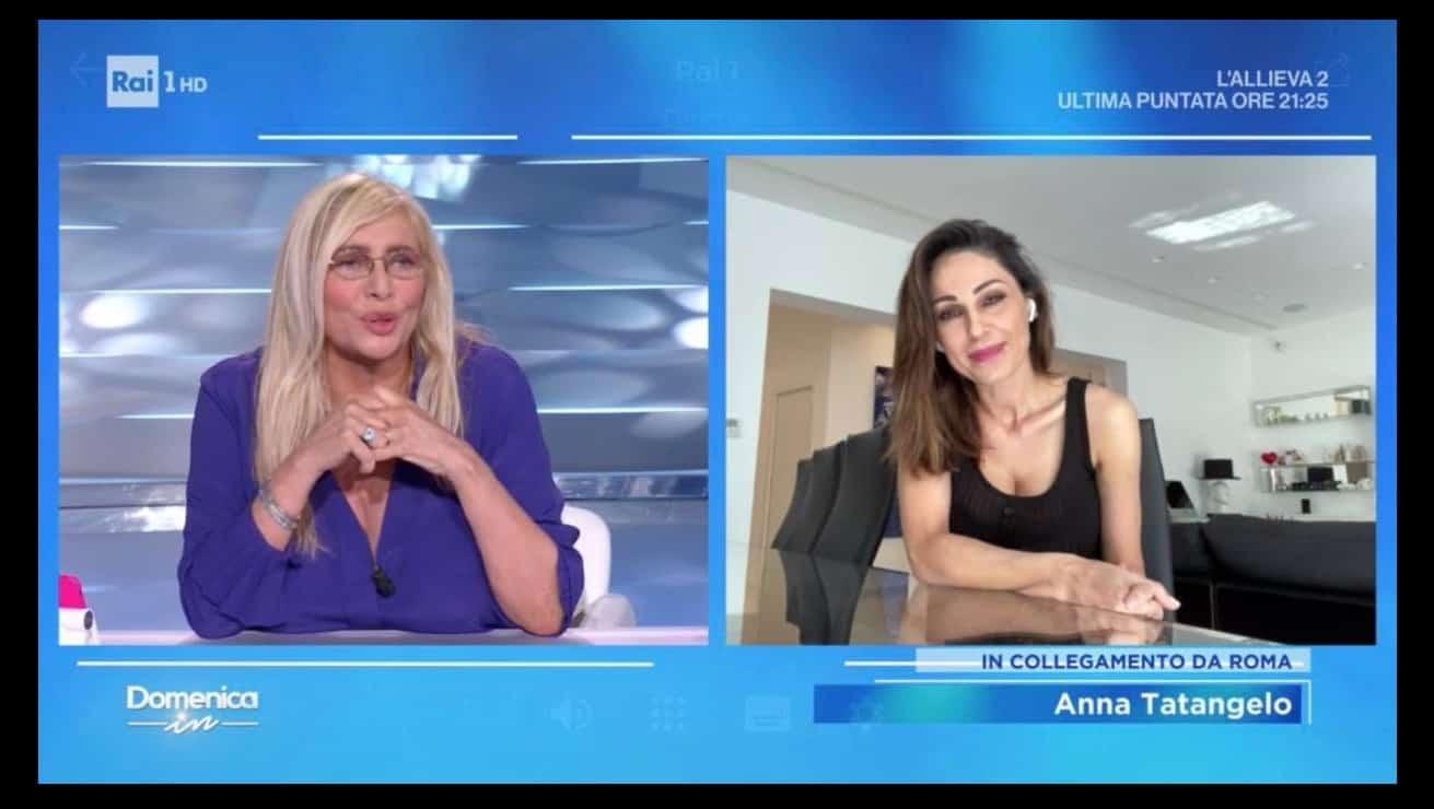 Nemmeno una parola su Gigi D'Alessio: Mara Venier augura ad Anna Tatangelo di essere felice (Foto)