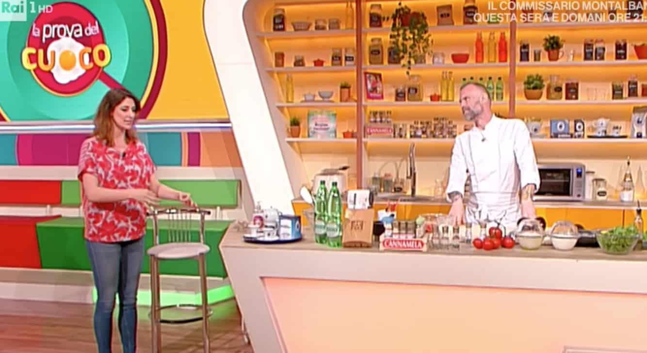 Gabriele Bonci ancora più magro a La prova del cuoco, impossibile riconoscerlo (Foto)
