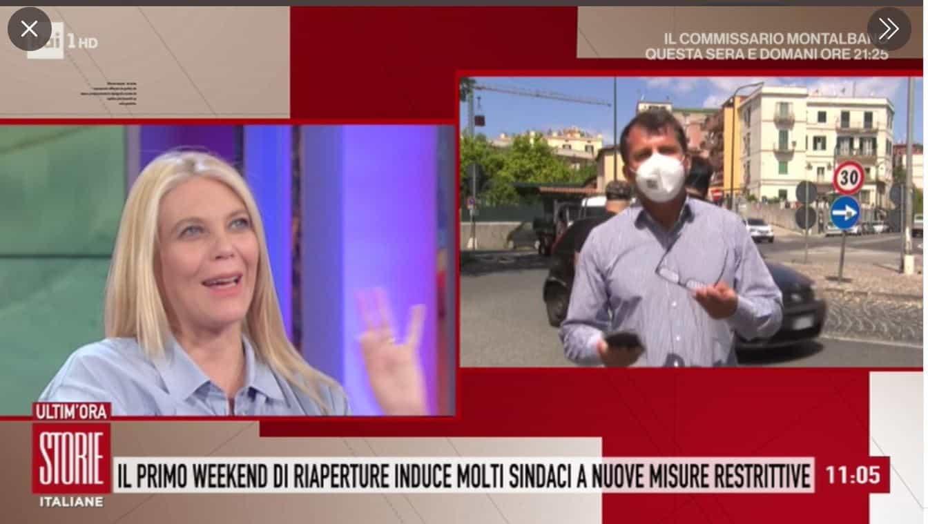 Eleonora Daniele mamma salta l'ultima puntata di Storie Italiane: niente arrivederci al pubblico