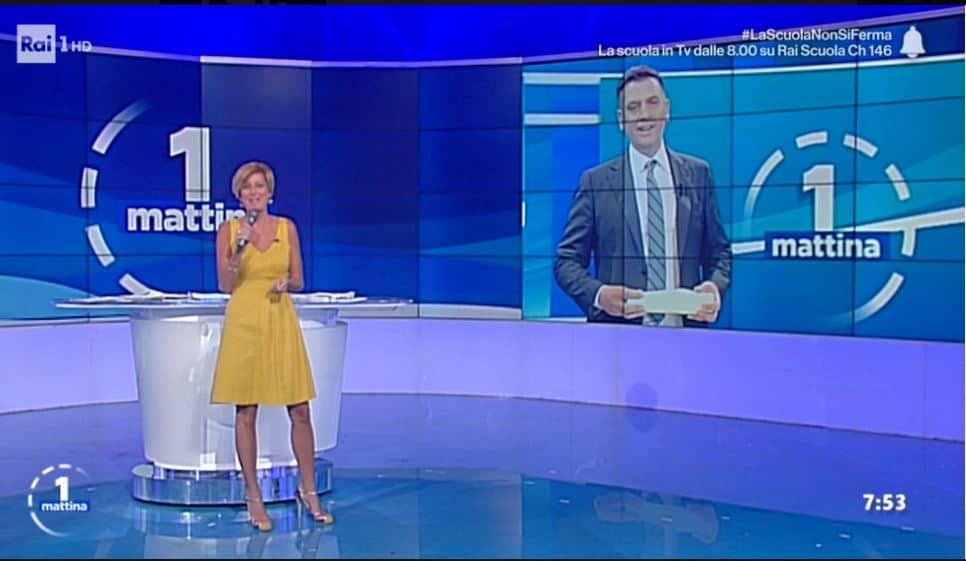 Gli auguri per Eleonora Daniele da UnoMattina: il programma si allunga e sostituisce Storie Italiane
