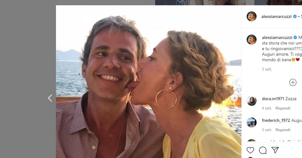 Alessia Marcuzzi e Paolo Calabresi è finita? Quarantena amara per la coppia