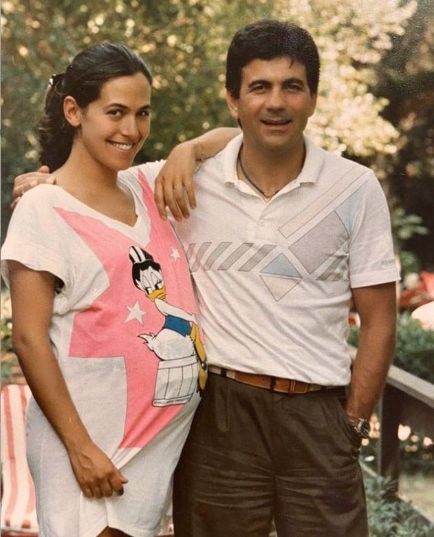 Barbara D'Urso col pancione e accanto c'è sempre l'ex compagno (Foto)