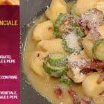Ricette La prova del cuoco: gnocchi con zucchine, guanciale e pecorino