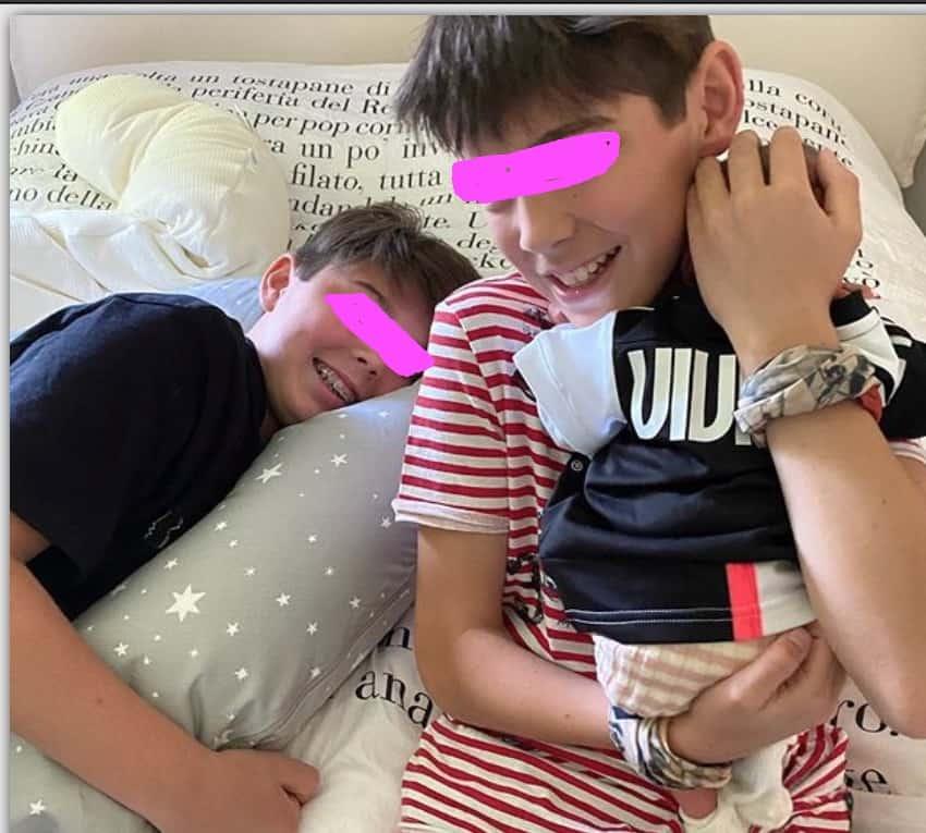 Alena Seredova, la prima foto dei tre figli insieme ma non ci sarà la famiglia allargata (Foto)