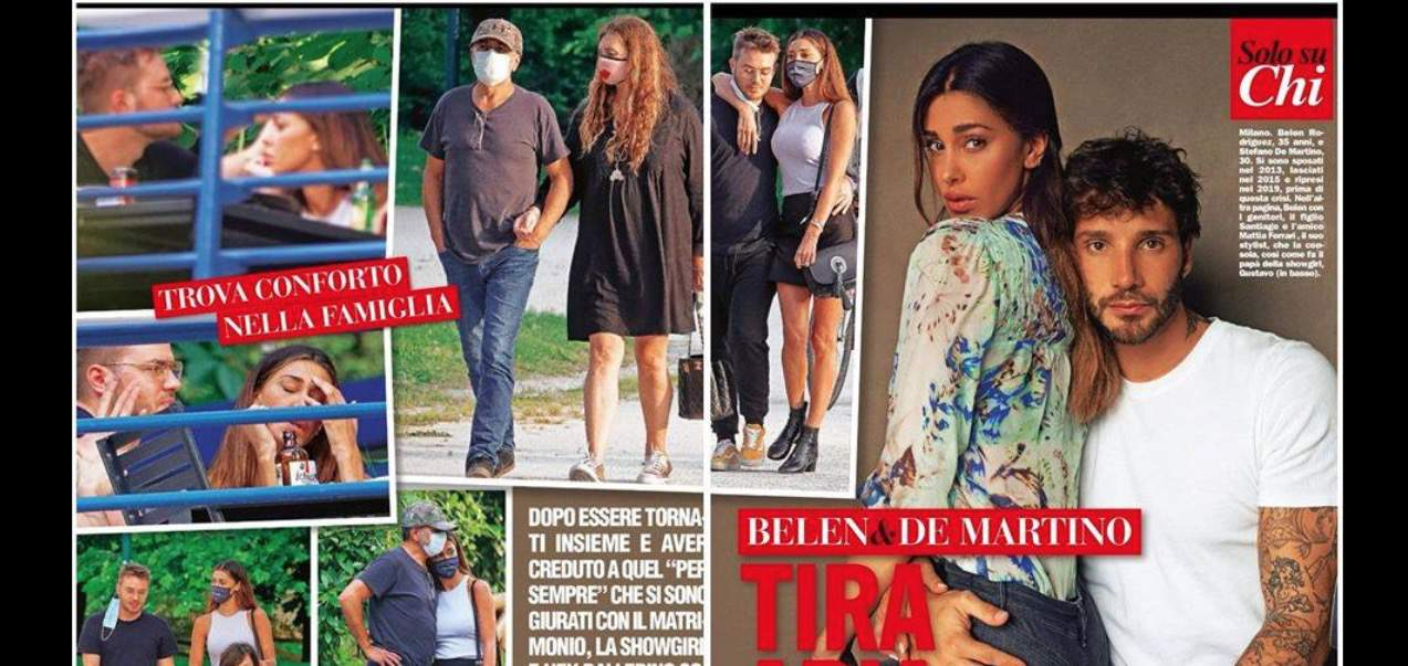 Belen Rodriguez ha tolto la fede e si consola con la famiglia: è tutto vero? (Foto)
