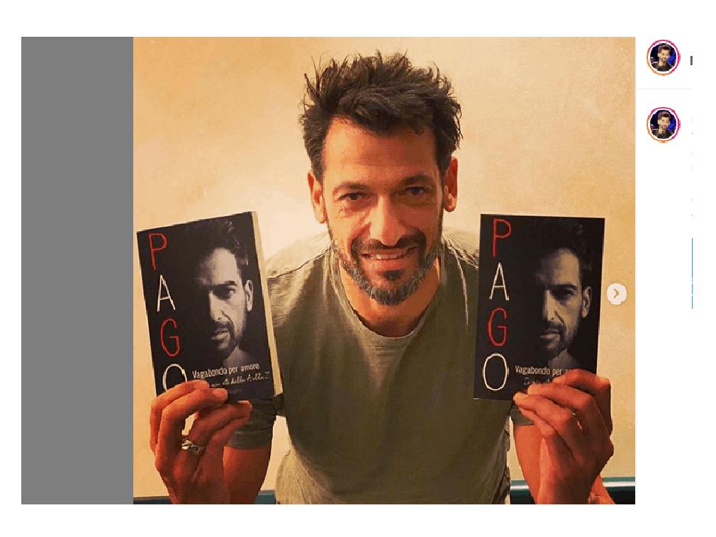 Vagabondo per Amore, arriva il libro di Pago: nuovi retroscena su Serena Enardu