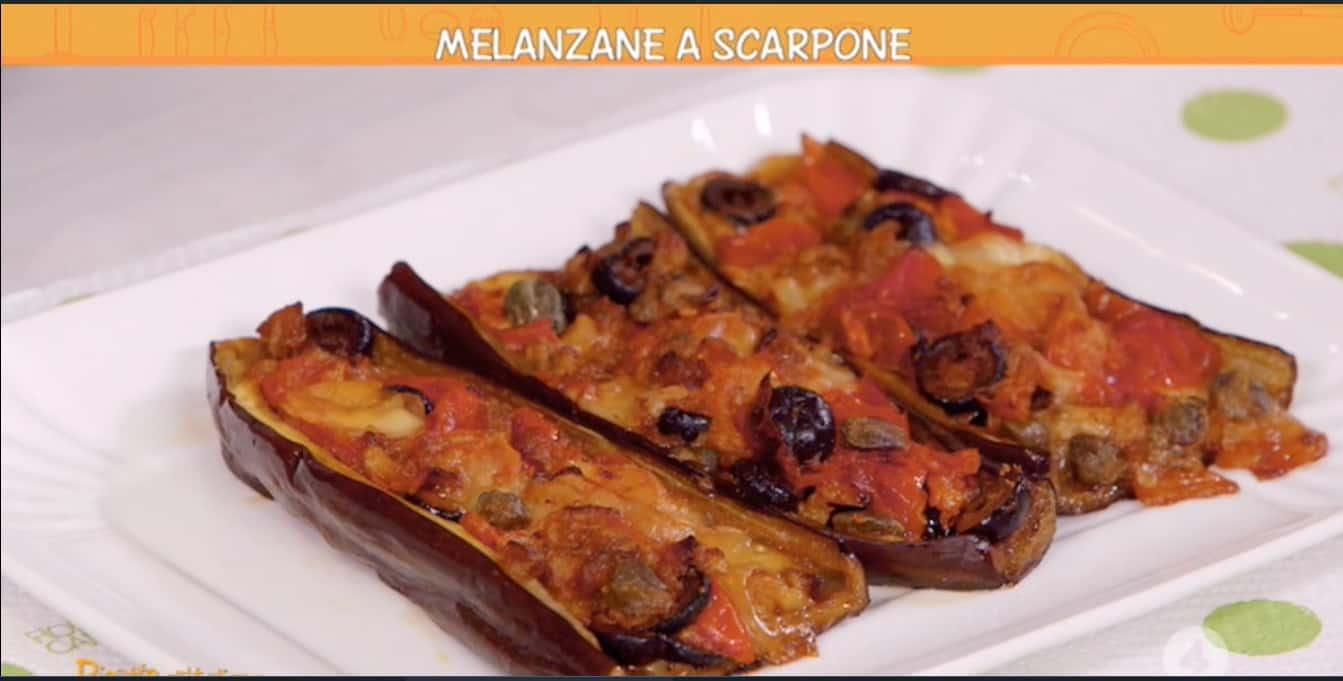 Melanzane a scarpone di Anna Moroni per Ricette all'italiana