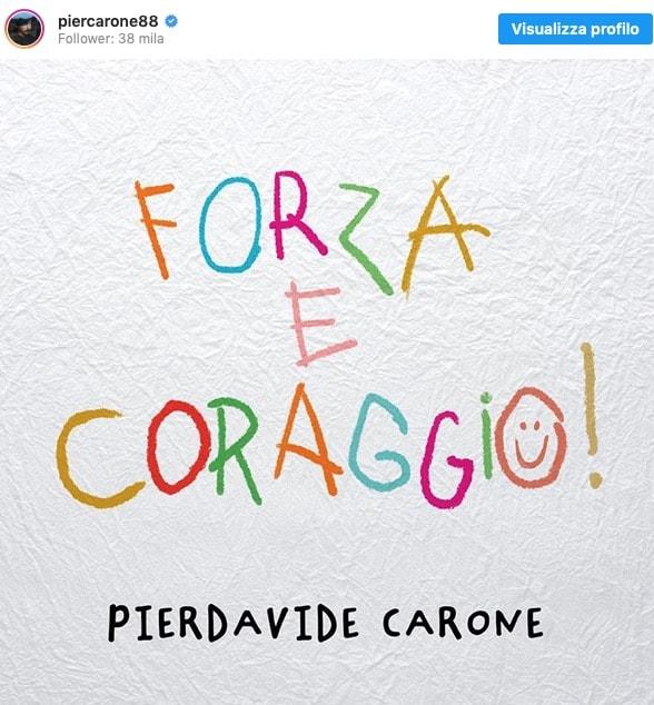 Pierdavide Carone la sua Forza e Coraggio dopo il tumore, ne parla solo adesso (Foto)