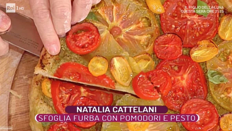 La ricetta della pasta sfoglia furba di Natalia Cattelani, La prova del cuoco
