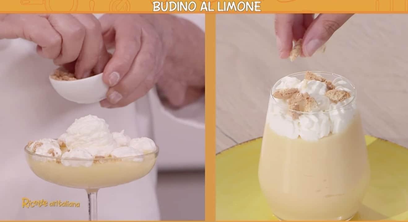 La ricetta del budino al limone di Anna Moroni per Ricette all'italiana