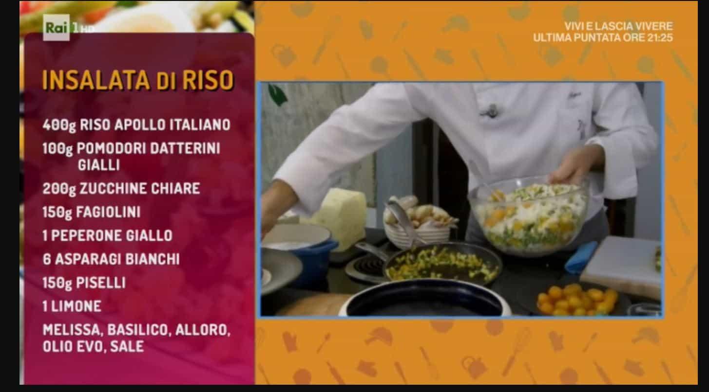 Come preparare l'insalata di riso con la ricetta di Sergio Barzetti