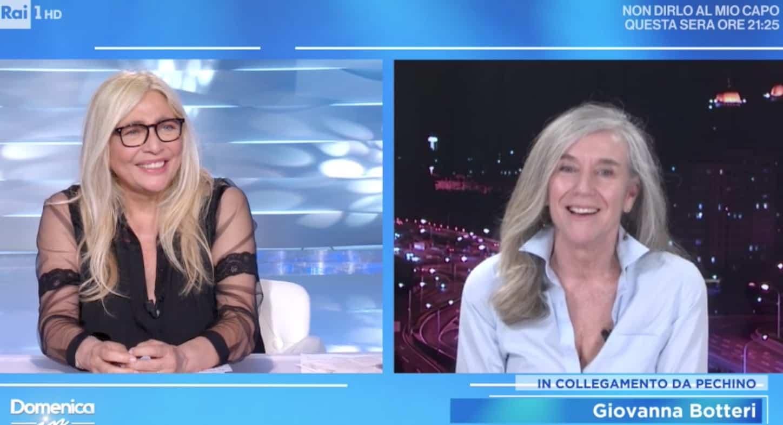 Giovanna Botteri la solitudine lontana dalla famiglia: a Domenica In l'omaggio a una grande professionista