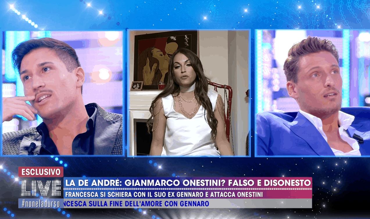 """Gennaro Lillio e Gianmarco Onestini, scontro a Live: """"Immaturo, infantile e rancoroso"""""""