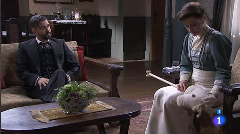 Una vita anticipazioni: Lucia dirà a Telmo che lo ama e che è il padre di Mateo?
