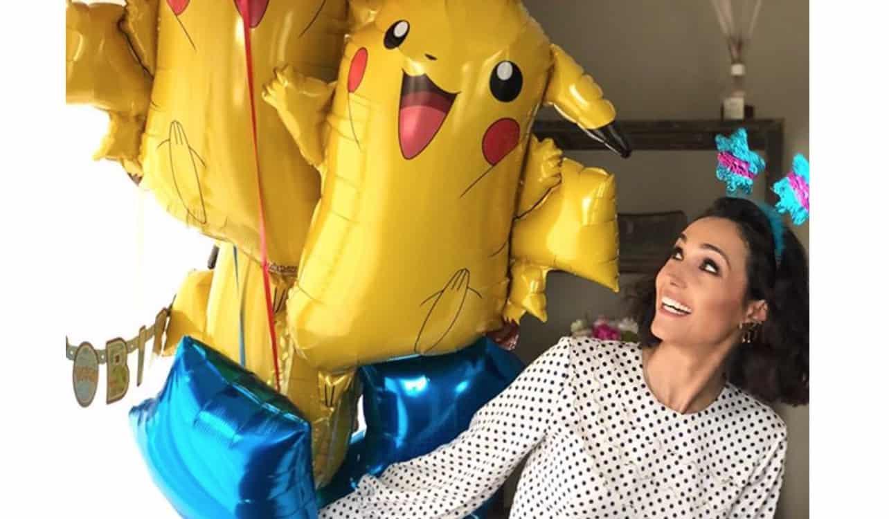 Caterina Balivo dopo il compleanno del figlio festeggia il papà con torta e regali (Foto)