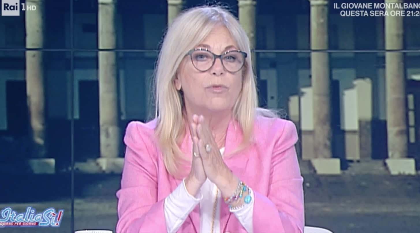 Rita Dalla Chiesa racconta perché Mara Venier è caduta, a Italia Sì un abbraccio per la conduttrice