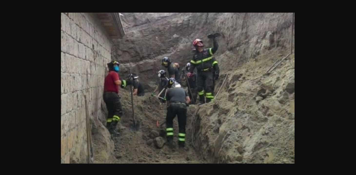 Frana a Pianura su un cantiere: due operai travolti morti sotto le macerie