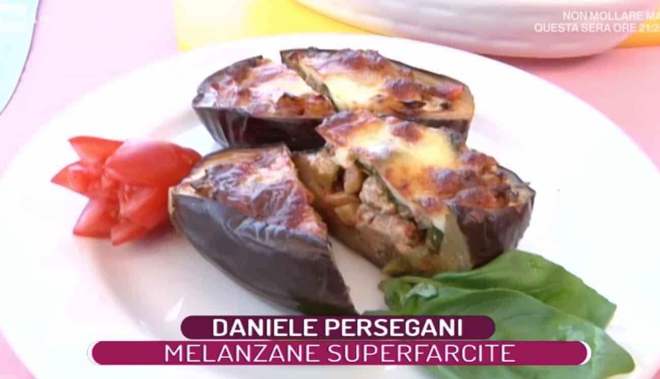 Melanzane superfarcite, la ricetta di Daniele Persegani per La prova del cuoco