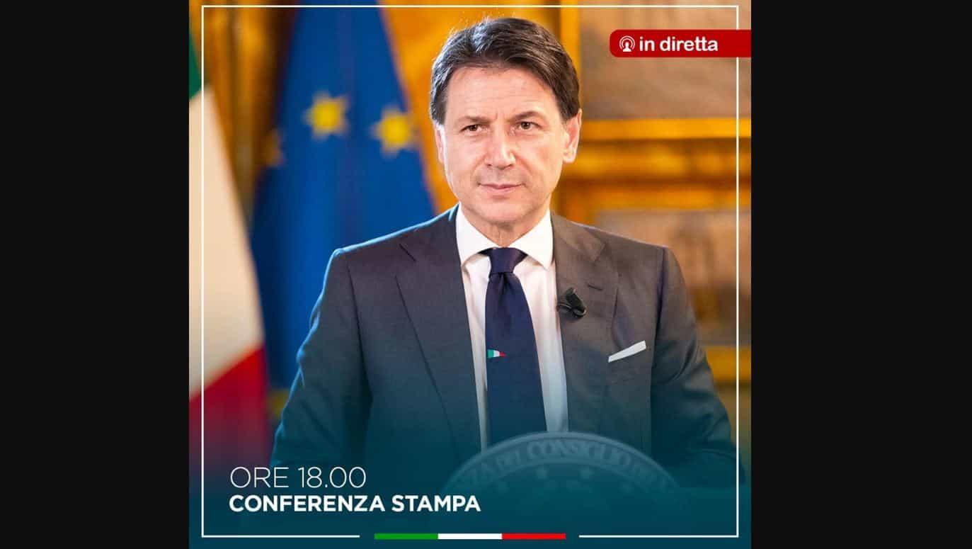 Conferenza stampa Giuseppe Conte: Italia verso la fase 3?