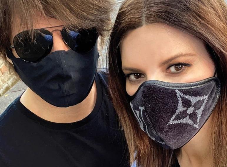 I vip con le mascherine, ognuno sceglie il proprio stile (Foto)