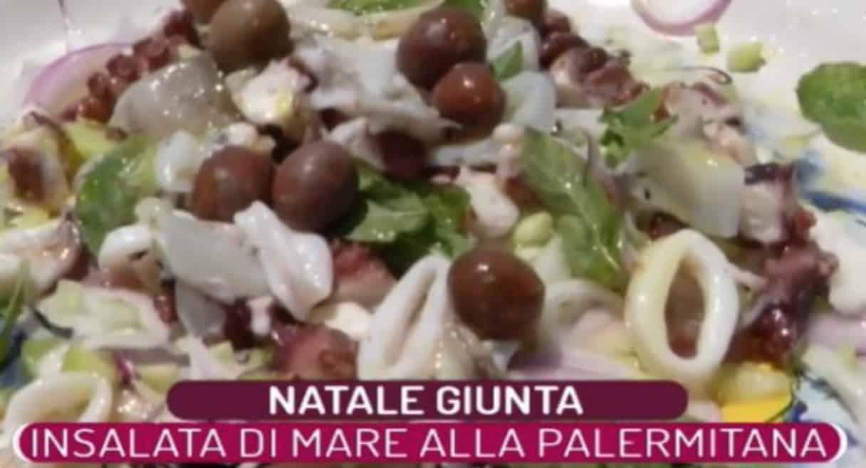 Natale Giunta e la ricetta palermitana dell'insalata di mare