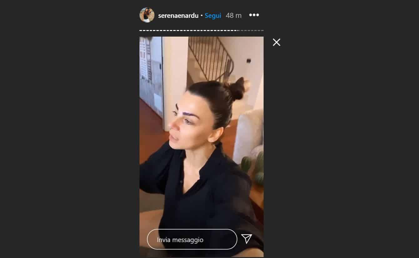 """Serena Enardu sbotta sui social: """"Magari avessi avuto una storia di 4 mesi con Alessandro"""" e si scusa con lui"""