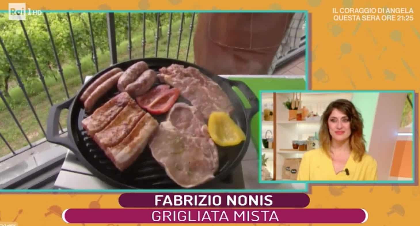 Una grigliata mista perfetta con la ricetta di Fabrizio Nonis