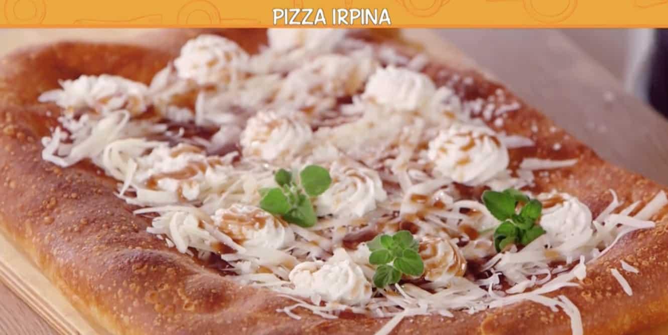 La pizza irpina di Ciro per le Ricette all'italiana