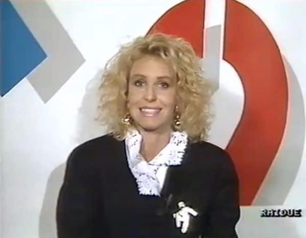 Antonella Clerici 30 anni fa, sui social mostra le vecchie immagini: Italia 90 (Foto)