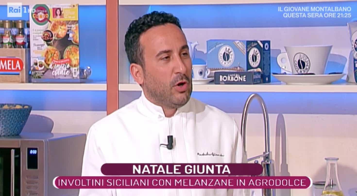 Natale Giunta emozionato a La prova del cuoco, Elisa Isoardi pronta a passare su Rai 2?