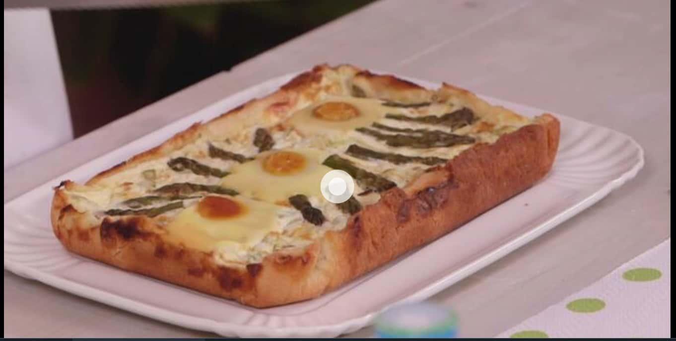 La quiche agli asparagi di Anna Moroni: Ricette all'italiana