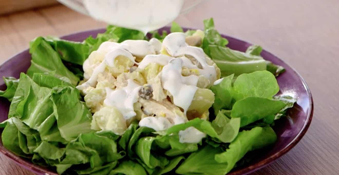 Insalata Oliver di Anna Moroni, la ricetta con pollo e patate per Ricette all'italiana