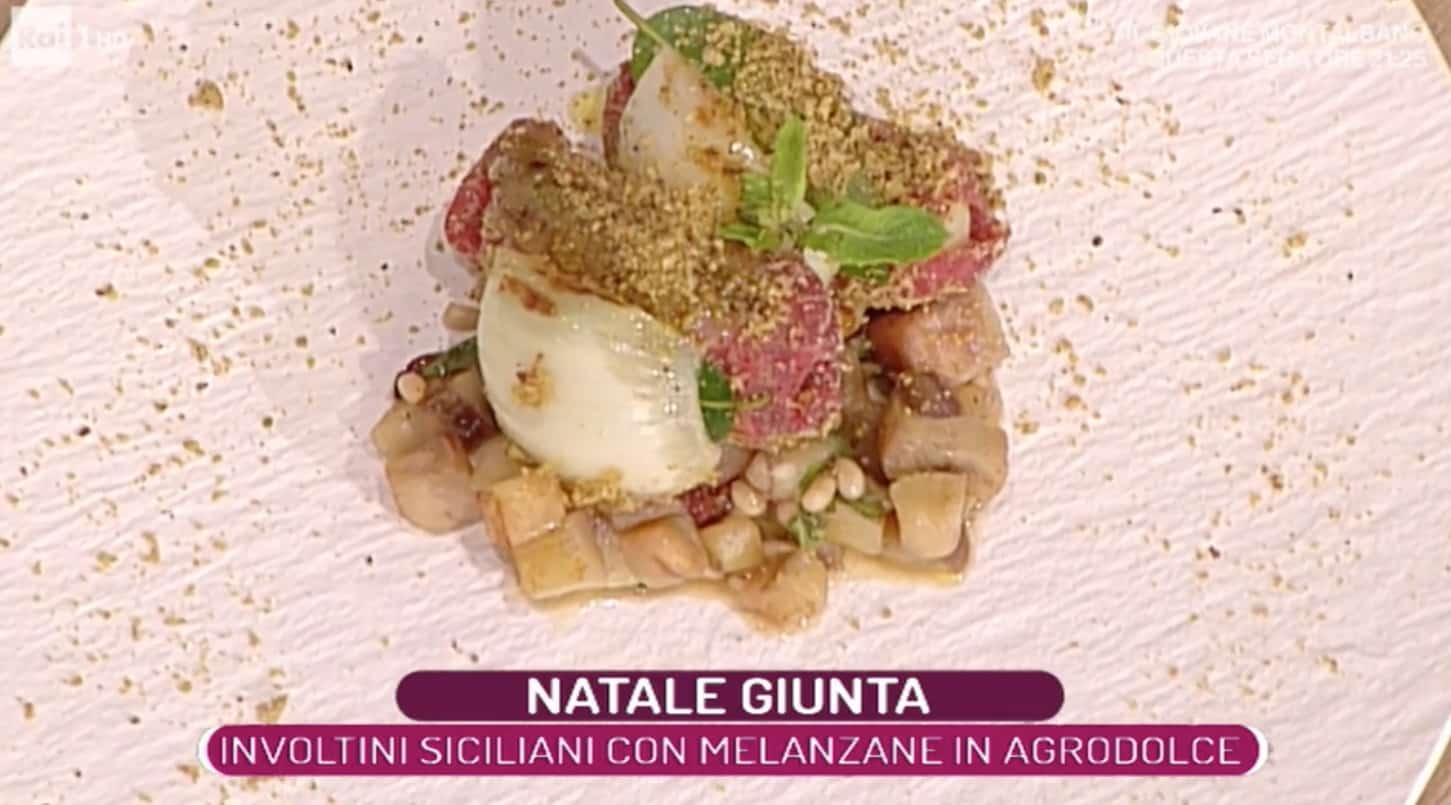 Involtini siciliani con melanzane, la ricetta di Natale Giunta