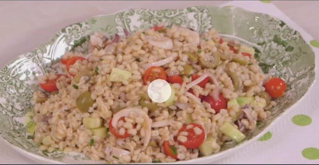 Ricette all'italiana: insalata fredda di orzo e seppie di Anna Moroni