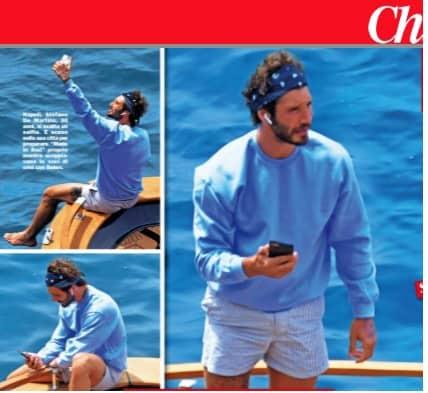 Stefano De Martino sulla barca Santiago ma senza Belen, tutto è cambiato in pochi mesi (Foto)