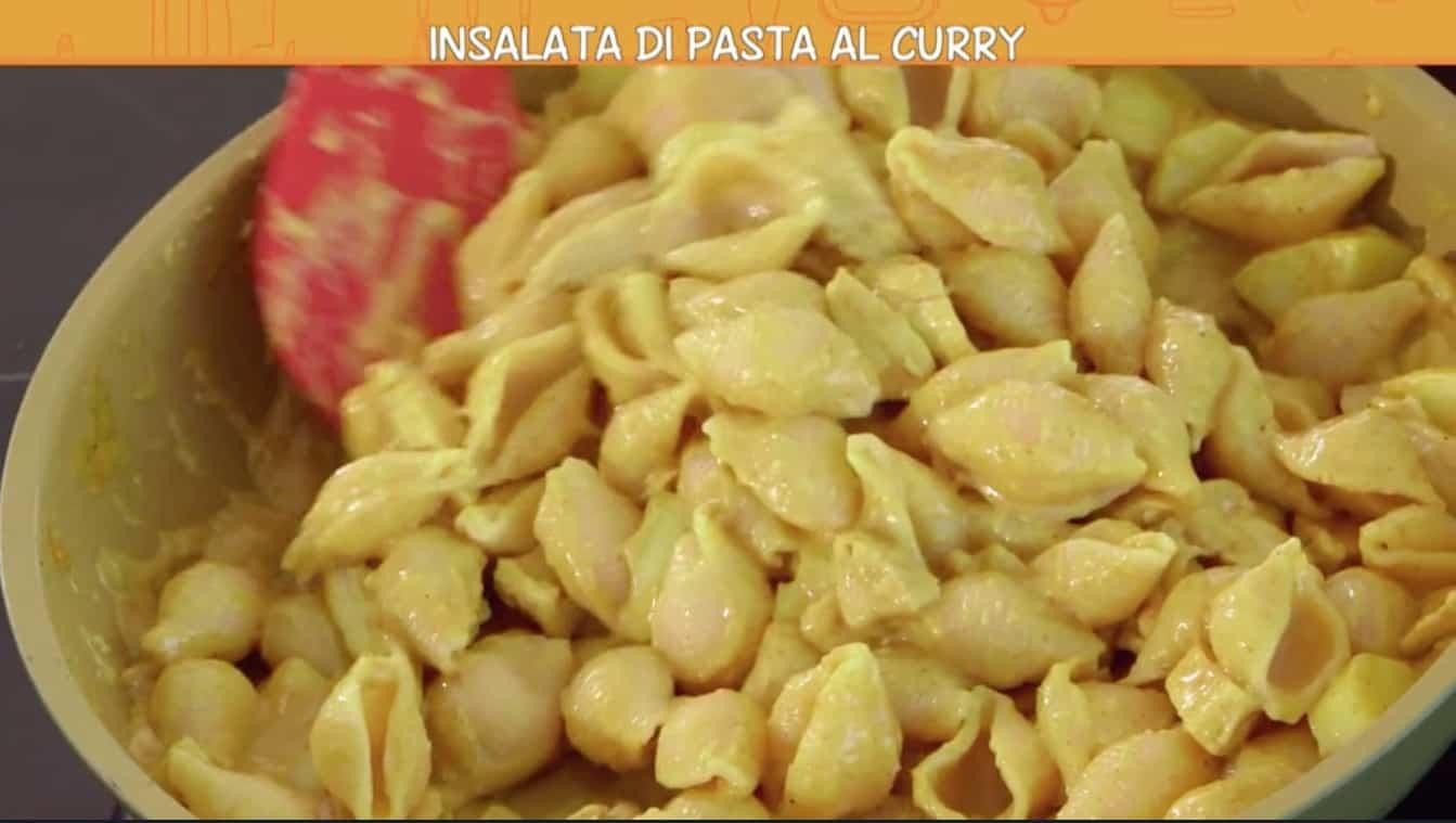 L'insalata di pasta al curry di Anna Moroni, Ricette all'italiana