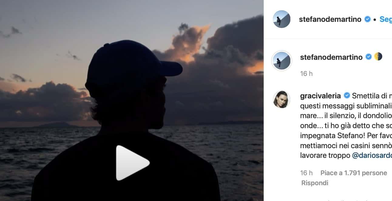Il video di Stefano De Martino dice tutto ma tutti gli consigliano di tornare a casa (Foto)