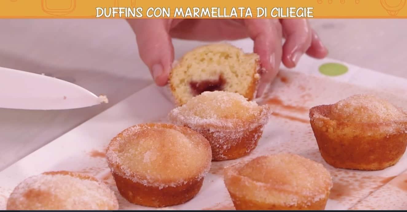 Duffins con marmellata di Anna Moroni, le Ricette all'italiana dolci