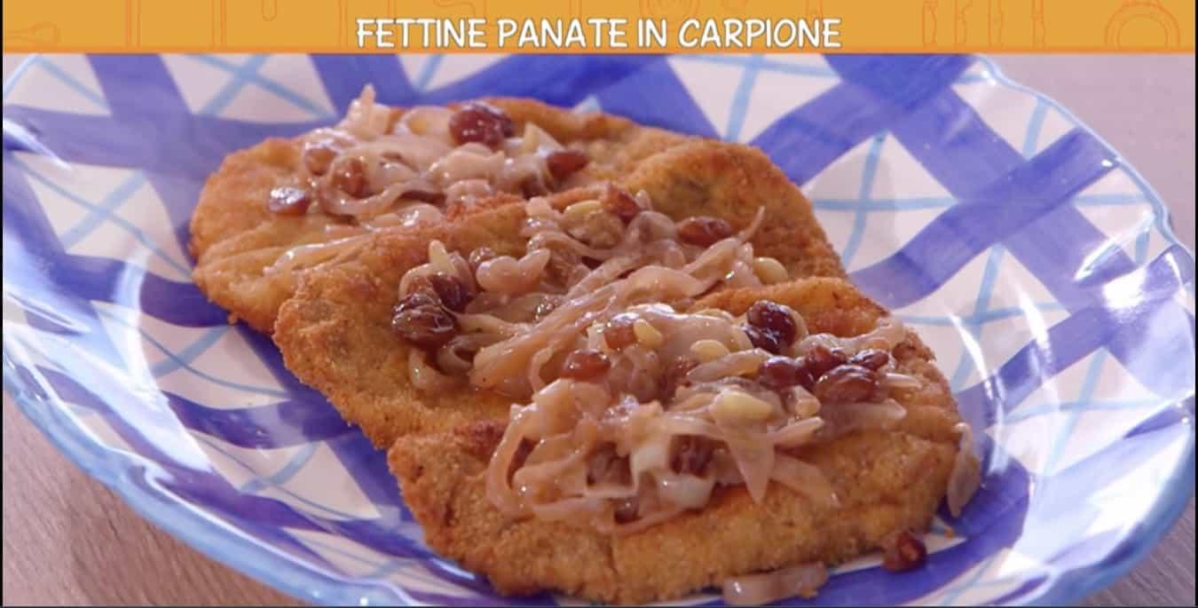 Fettine panate in carpione di Anna Moroni, le Ricette all'italiana per la famiglia