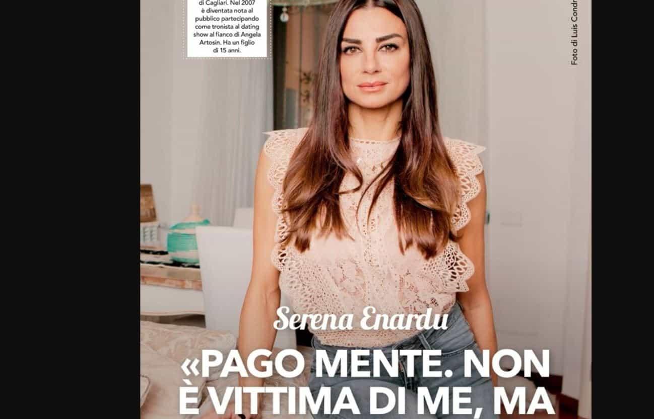 Serena Enardu rivela i veri motivi della rottura con Pago: è stata lei a cacciarlo di casa e spiega perchè