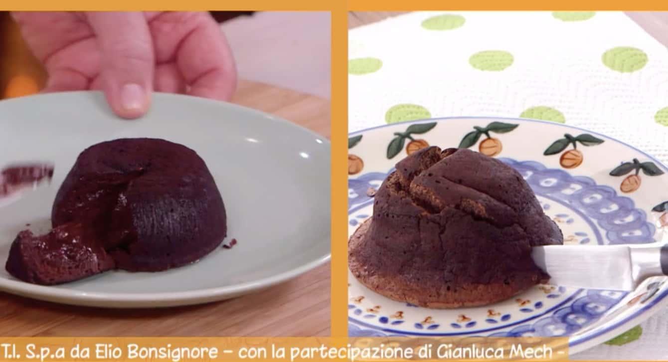 Ricette Anna Moroni: sformatino al cioccolato con cuore caldo per Ricette all'italiana