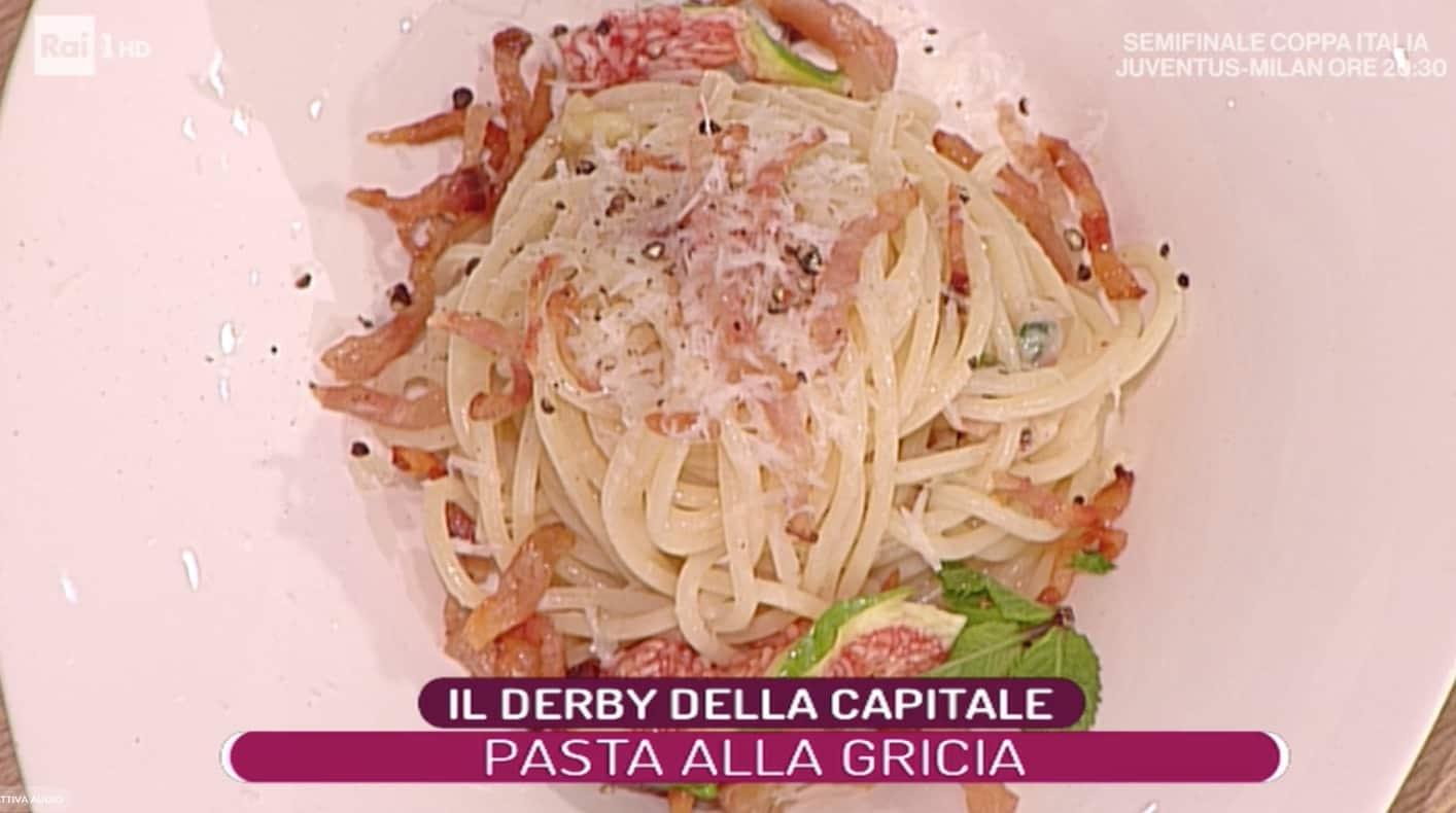 Spaghetti alla gricia estiva di Fabrizio Sepe: ricette La prova del cuoco