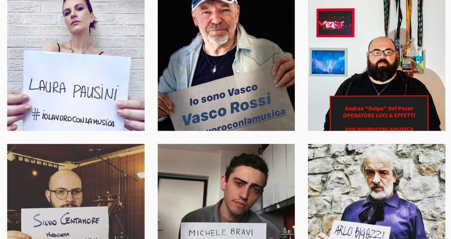 #iolavoroconlamusica è la protesta di tutti gli artisti  e lavoratori che chiedono risposte al Governo