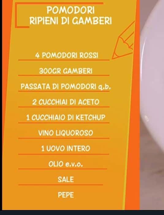 Pomodori ripieni di gamberi di Anna Moroni da Ricette all'Italiana