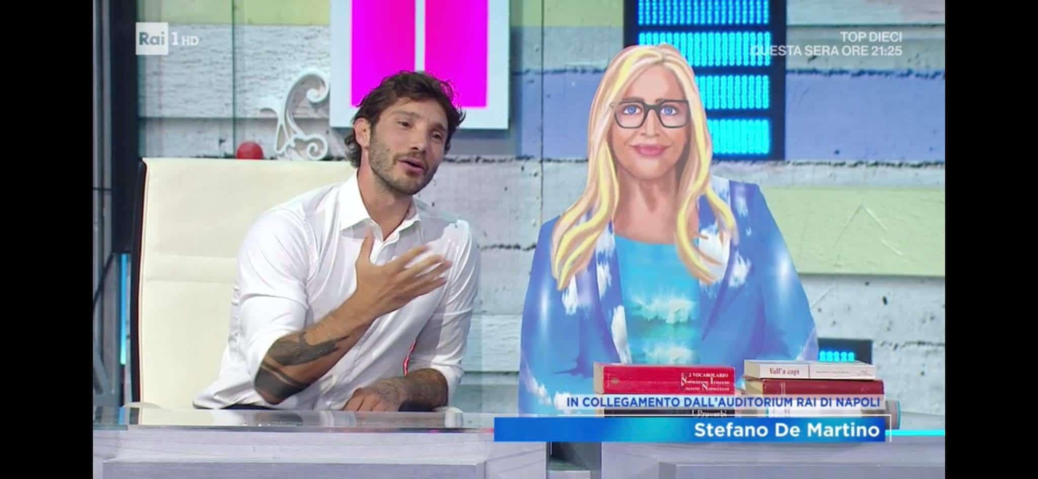 Stefano de Martino a Domenica IN ma non si parla di Belen e del gossip