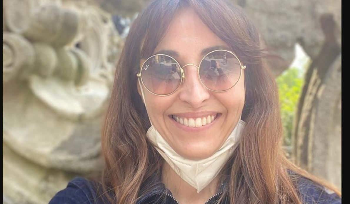 Benedetta Parodi in mascherina sul set di Bake Off Italia 2020: si riparte