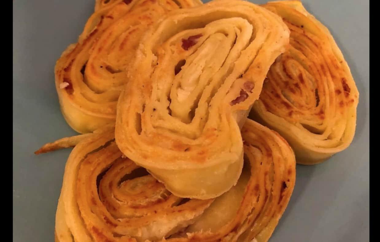 Girelle di pasta con ripieno di ricotta, prepara e congela