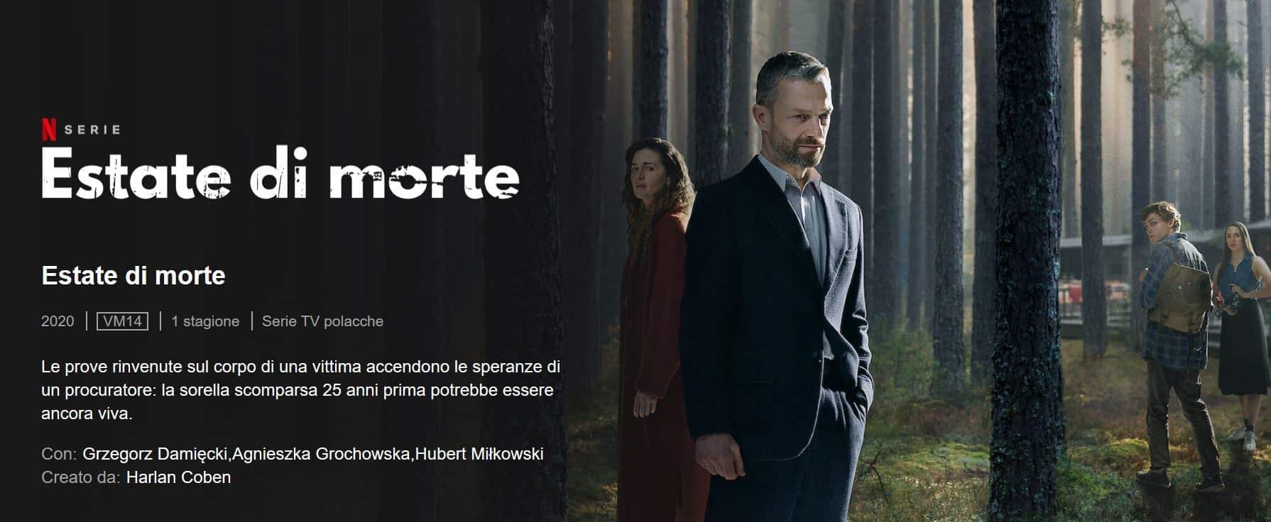 Serie da vedere su Netflix in estate: The Woods-Estate di morte consigliatissima